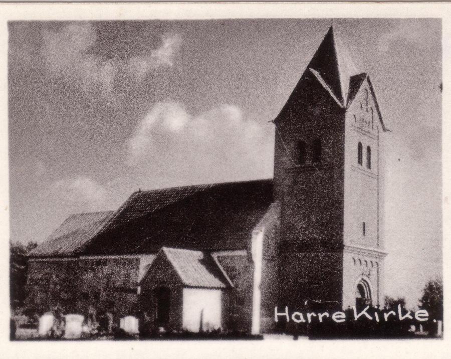 Harre kirke 1955