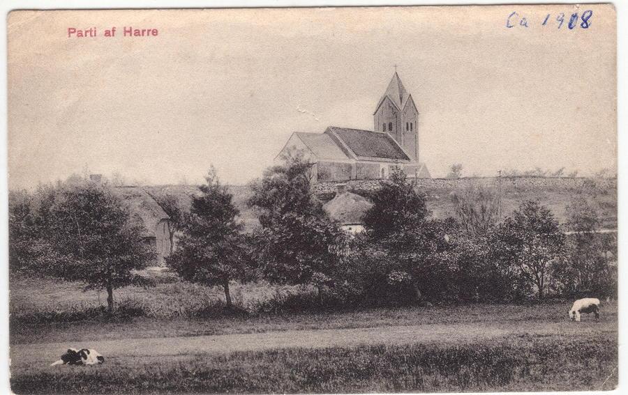 Harre kirke ca.1908