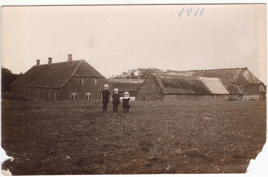 Julekort 1916