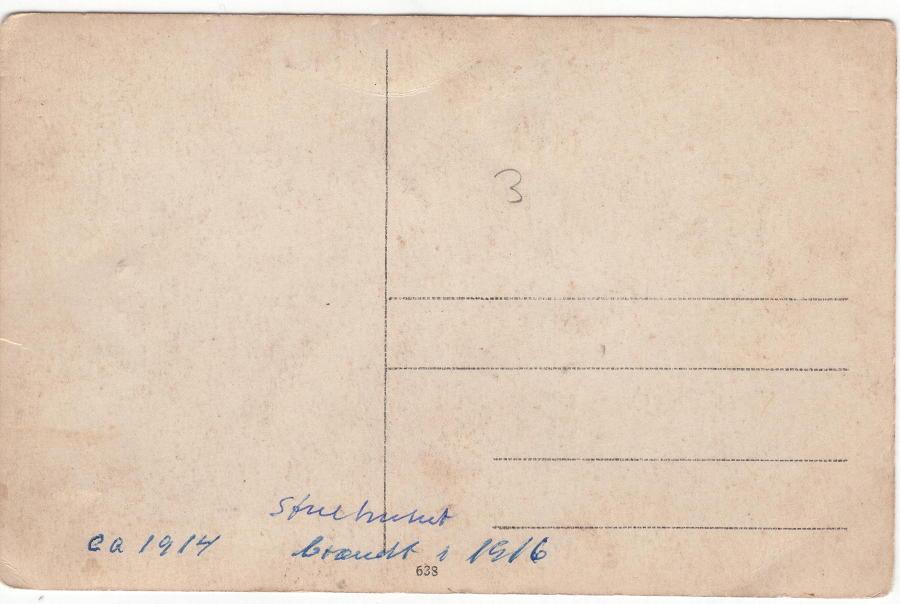 Mellem 1912-16 Bagsiden